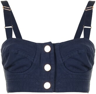 Alice McCall Bronte cropped top