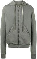 Rick Owens Jasons zip front hoodie