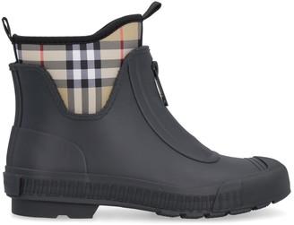 Burberry Rubber And Neoprene Rain Boots