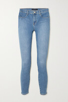Thumbnail for your product : J Brand Alana Cropped High-rise Skinny Jeans - Mid denim