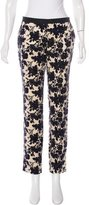 Tory Burch Velvet Floral Pants