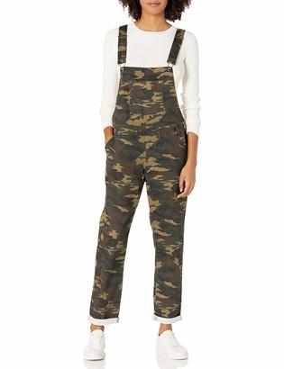 Cover Girl Women's Size Denim Overalls Bib Strap Button Skinny Fit