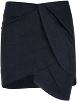 Giuliana Romanno asymmetric mini skirt