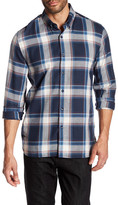 Peter Werth Britton Plaid Trim Fit Shirt