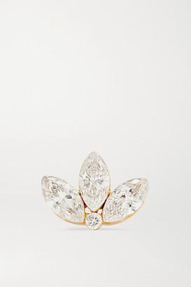 Maria Tash Lotus 18-karat Gold Diamond Earring - one size