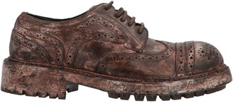 Dolce & Gabbana Distressed Brogue Shoes