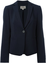 Armani Collezioni single button blazer - women - Polyester/Spandex/Elastane/Virgin Wool - 38