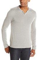 Buffalo David Bitton Men's Walleys Solid Soft Long Sleeve Sweater