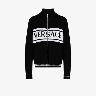 Versace Medusa wool cardigan