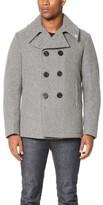 Gerald & Stewart by Fidelity Wool Quilt Lined Pea Coat
