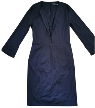 Uniqlo Black Cotton Dress for Women