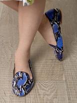 Aquazzura Serpent slippers