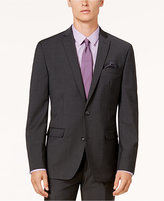 Bar III Men's Slim-Fit Active Stretch Solid Dark Gray Suit Jacket, Created for Macy's