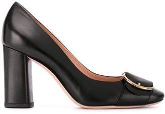 Bally Claire chunky heel pumps