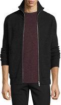 Theory Ronzons Merino Full-Zip Sweater, Night