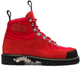 Off-White Cordura Hiking Boots