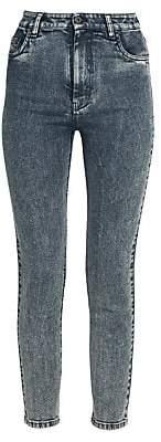 Miu Miu Women's Cropped Skinny Jeans