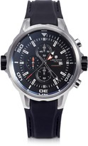 Lancaster Space Shuttle Stainless Steel and Silicone Chronograph Watch