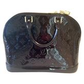 Louis Vuitton Burgundy Leather Handbag