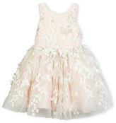 Zoë Ltd Sleeveless Tulle Butterfly Dress, Blush, Size 7-16