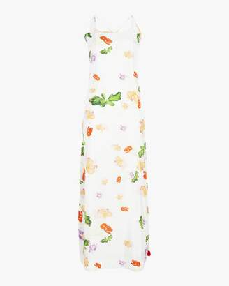 Verandah Pom Pom Cross Back Maxi Dress
