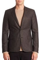 J. Lindeberg Modern-Fit Speckled Blazer