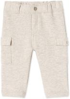Petit Bateau Baby boys pants in cotton fleece