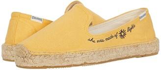 Soludos Sunlight Platform Espadrille (Marigold) Women's Shoes