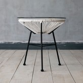 Graham and Green Anora Side Table In White