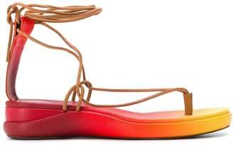 Chloé two tone sandals