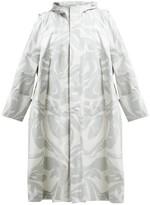 Colville - Camouflage-print Oversized Cotton Parka - Womens - Grey Multi