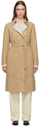 Rag & Bone Reversible Tan Rach Coat