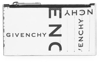 Givenchy Leather Zip Card Case