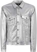 Jaded London Silver Denim Jacket*