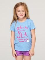 Roxy Girls 2-6 Take Me To The Sea Tee Shirt