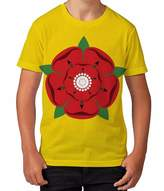 BANG TIDY CLOTHING Kids Graphic T Shirt Boys Top Lancashire Rose Youth Tee Shirt