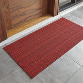 "Crate & Barrel Chilewich ® Red Striped 24""x48"" Doormat"
