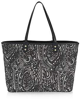 Etro Women's Reversible Paisley Leather Tote