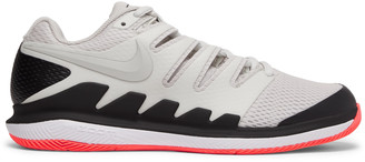 Nikecourt Air Zoom Vapor X Rubber And Mesh Tennis Sneakers