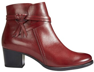 Easy Steps Carlton Red Glove Boot
