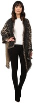 Betsey Johnson Leapin Leopard Blanket Wrap