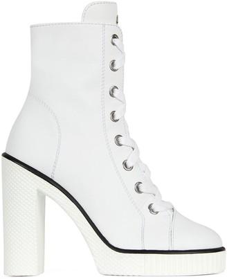 Giuseppe Zanotti Lace-Up Ankle Boots