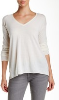 Minnie Rose Superfine V-Neck Cashmere Sweater