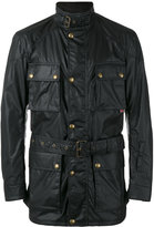 Belstaff belted Racemaster jacket - men - Cotton/Polyester - 48