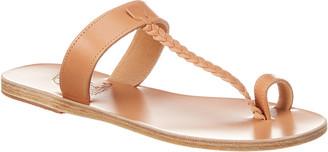 Ancient Greek Sandals Melpomeni Leather Sandal