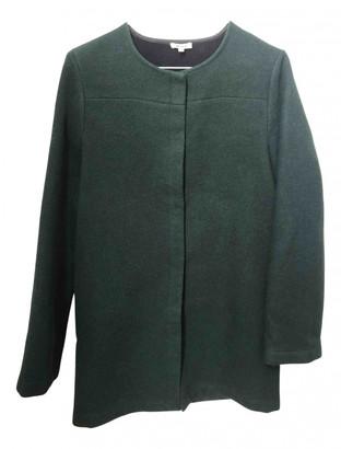 Brandy Melville Green Wool Coats