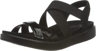 Ecco Women's Women's Flowt Elastic Flat Sandal