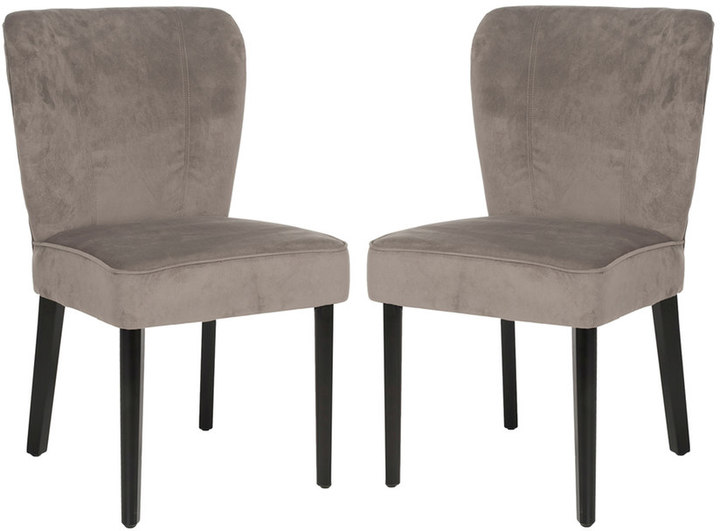 Safavieh 2-pc. Clifford Taupe Side Chair Set