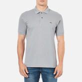 Lacoste Men's Short Sleeve Polo Shirt Platinum