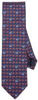 Jack Spade Camel Parade Tie